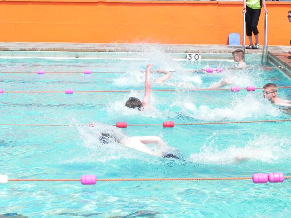 A mini olympic legacy interschools gala 26 june 2013 - Open air swimming pool portishead ...