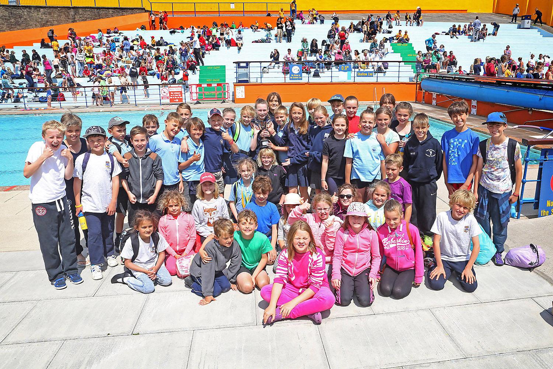 Inter schools gala 2015 portishead open air pool - Open air swimming pool portishead ...